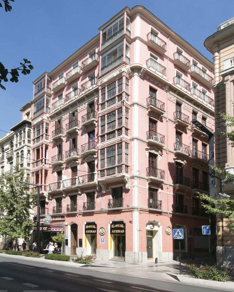 Hotel en granada desde 15 web oficial hostal atenas for Hotel de diseno granada