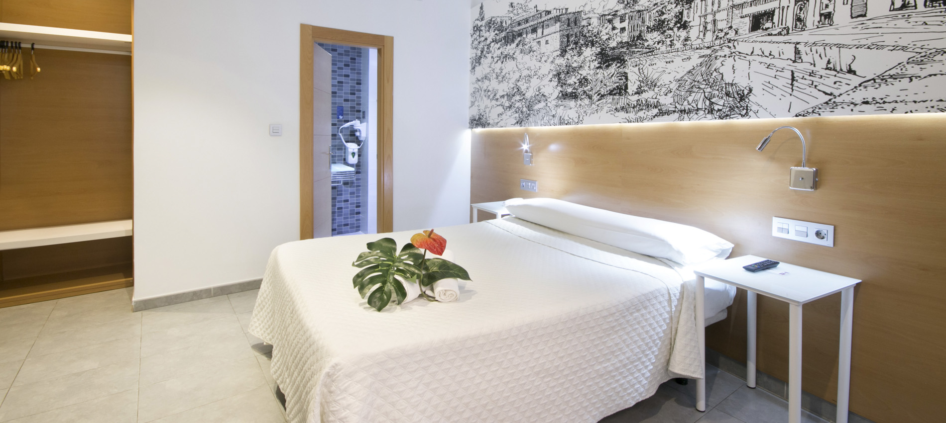 Cheap Accommodation Granada. Hostel Atenas Granada Spain